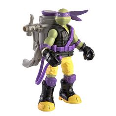 TMNT Ooze Scoopin Donnie with Ooze-Zooka