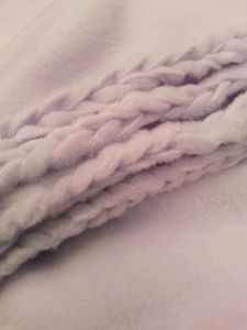 Braided Fleece Blanket Tutorial. via Harts Fabric @Desiree Nechacov Nechacov Nechacov Grice  @Megan Ward Ward Ward Wagers