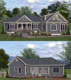 Totally want this exact house!!!!  The layout is fantastic!!! Plan W20044GA