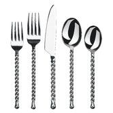 Silver Tear 20 piece flatware set by Gourmet Settings has rustic flair with a charming twisted handle. Silver Tear flatware has one of our most brilliantly designed flatware patterns. Using it everyday allows you to add your creative flair to every meal a Stainless Steel Dishwasher, Stainless Steel Flatware, Tupperware, Food Storage, How To Clean Silverware, Cleaning Silverware, Silverware Sets, Back To University, Modeling