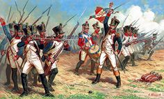 Military Art, Military History, Military Uniforms, Military Divisions, First French Empire, Battle Of Waterloo, Seven Years' War, Age Of Empires, French Army