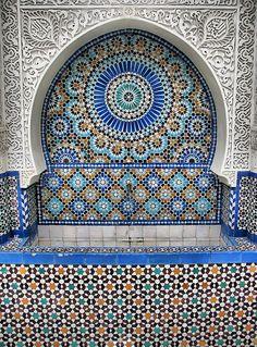 Great Mosque of Paris http://islamic-arts.org/2012/great-mosque-of-paris/