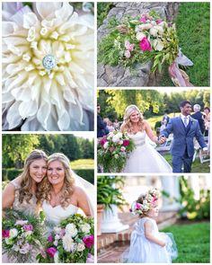 One of my favorite couples this wedding season. Bridesmaid Dresses, Wedding Dresses, Wedding Season, Floral Design, Seasons, Table Decorations, My Favorite Things, Couples, Home Decor
