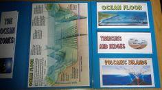 Free  Oceans Lapbook