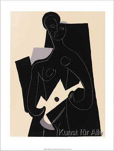 Pablo Picasso - Femme a la guitare, 1924