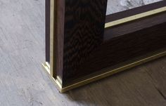 DLV Designs, brass trim and timber detail