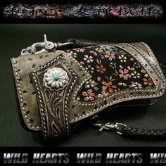Japanese Pattern Hand carved leather  http://item.rakuten.co.jp/auc-wildhearts/lw1008/