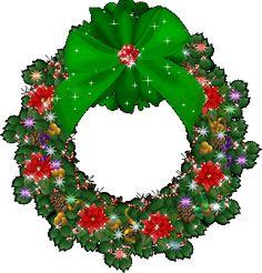 Gifs Christmas: Christmas Wreaths