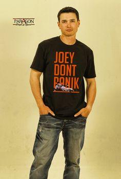 San Fran Joey Don't Panik Tee by ParagonDesigns32 on Etsy