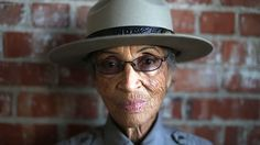 """Betty Reid Soskin began working as a park ranger at age 85. """"I'm the only person in the room who can look at the scattered [wartime production] sites and instantly recognize them as sites of racial segregation. Because what gets remembered is determined by who's in the room doing the remembering."""""""