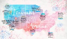 The Best Places to Watch Fireworks Across America | Free People Blog #freepeople