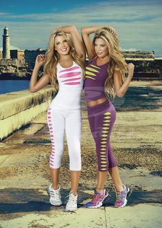 NEW ARRIVAL! How hot is this?!  Cotton Lycra Gym Set now available at Babalustore.com