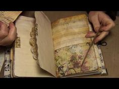Vintage Butterfly Journal - YouTube                                                                                                                                                                                 More