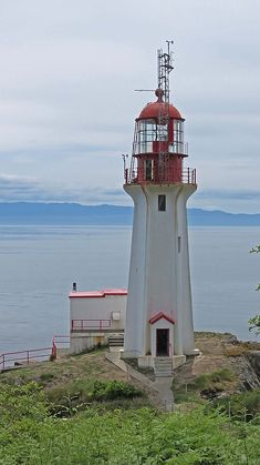 Sheringham Point Lighthouse, Vancouver Island, BC, Canada
