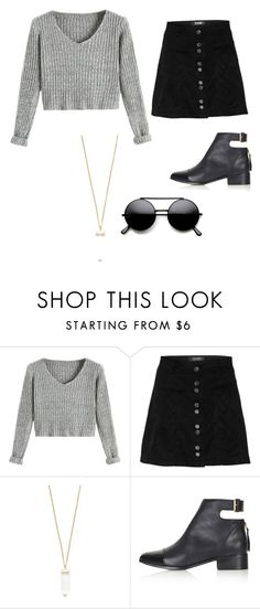 """""""Untitled #34"""" by heyairca ❤ liked on Polyvore featuring Forever 21 and Topshop"""