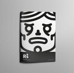 Design of characters. #icon #line #design #symbol #face #art #cartoon #illustration #monkey #cover #book #skull www.rafasanemeterio.com