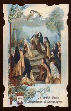 carmelite martyrs of compiegne   carmelite sundaes