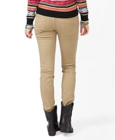 Colored skinny jeans kohls