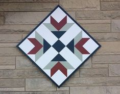 Are you familiar with barn quilts? I had never heard of them until they started popping up on barns locally. I just love them! Check out our DIY project.