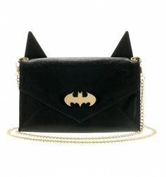 283513084 Black Batman Handbag With Ears Maletas, Carteras, Bolsos, Regalos De  Batman, Logotipo