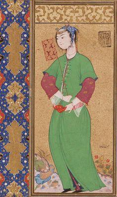 Lady with a Fan 1590
