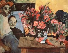 Paul Gauguin Paintings Index - 1891 -1893 - PART 4 | Chronologically arranged in alphabetical order with signature and inscription details | Images and list of works & Oeuvres. | Gauguin Authentication