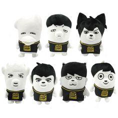 BTS Plush Doll http://kpopmerchandiseworld.com/product/bts-plush-doll http://kpopmerchandiseworld.com/artist/bangtan-boys-merchandise