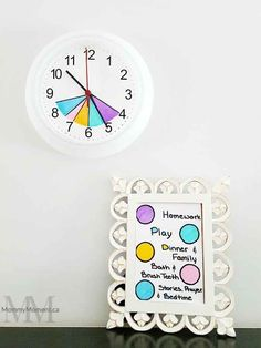 Make your own easy color coded After School Routine Clock to help guide the time you have from after school until bedtime. Make your own easy color coded After School Routine Clock to help guide the time you have from after school until bedtime. Diy Crafts For Teen Girls, Diy For Teens, Diy For Kids, After School Routine, School Routines, School Organization For Teens, Organization Hacks, Organizing Life, Diy Back To School Supplies