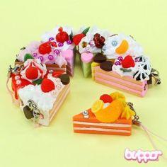 Small Jewel Cake Charm