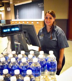 Only a few more weeks for our cashier bottled water contest ends one