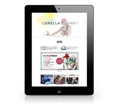 Lorella Sgarbi by Andrea Bedendo, via Behance