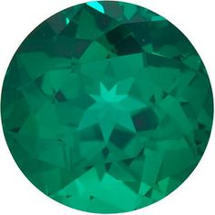 1.5mm Round Faceted Chatham Created Emerald
