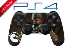Mortal Kombat X Kenshi Playstation 4 ps4 Controller Skin