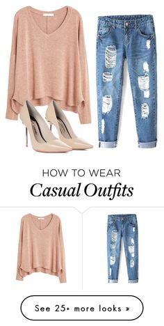 """""""casual"""" by snakeshads on Polyvore featuring MANGO and Sophia Webster"""