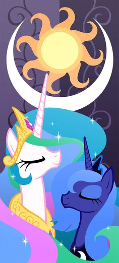 Princess Celestia and Princess Luna