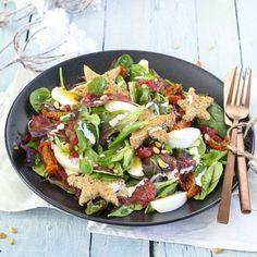 Chicken pie with potatoes - Healthy Food Mom Healthy Recepies, Healthy Salads, Healthy Cooking, Weigt Watchers, Fresco, Vinaigrette, Vegetable Salad, Gourmet Recipes, Gastronomia