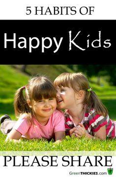 5 Habits of Healthy Kids