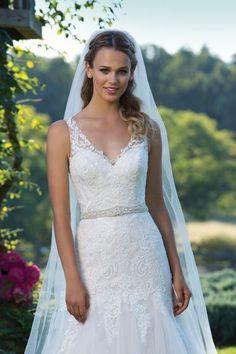 Sincerity Bridal - Crystal Beaded Sized Belt