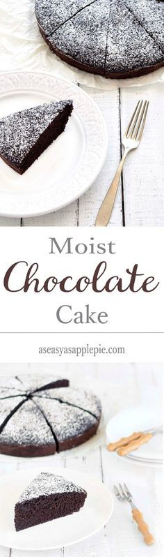 A soft, moist, sinfully delicious chocolate cake, which is eggless and butterless at the same time.