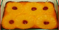 Pineapple Right-Side Up Cake