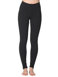 dfb5da5f07 Classic legging in our warm and cozy stretch terry makes this a winter  must-have