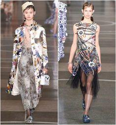 London Fashion Week – sapatos do desfile de Christopher Kane: crocs
