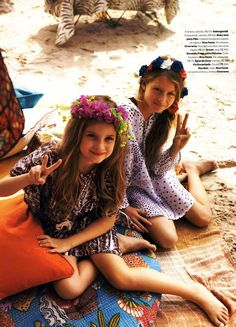 Vogue Brasil Kids Editorial O Havai é Aqui, Summer 2012 Shot #7