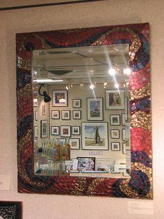 mirror in van gogh | by Virginia Mosaics
