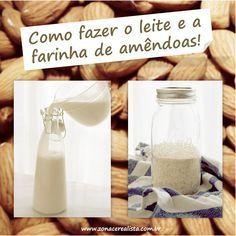 Amendoas Leite Farinha