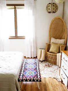 Bedside Bench   Bohemian Decor DIY Projects To Try Out This Season