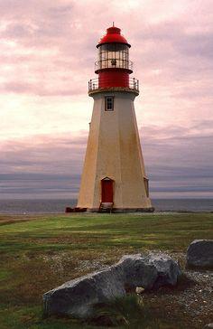 Point Riche Lighthouse Port au Choix, Newfoundland