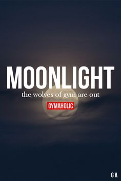 Moonlight!  Fitness Revolution -> http://www.gymaholic.co/  #fit #fitness…