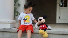 Personalized Mickey Mouse Birthday Design - Classic