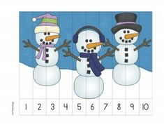 Snowmanprek This page pack is intended for kids aged What's in the pack? Letter W Activities, Seasons Activities, Kindergarten Activities, Kids Math Worksheets, Maths Puzzles, Winter Activities For Toddlers, Toddler Activities, Snow Theme, Numbers Preschool